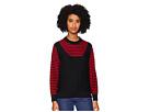 Sonia Rykiel Finewool Stripes Long Sleeve Sweater