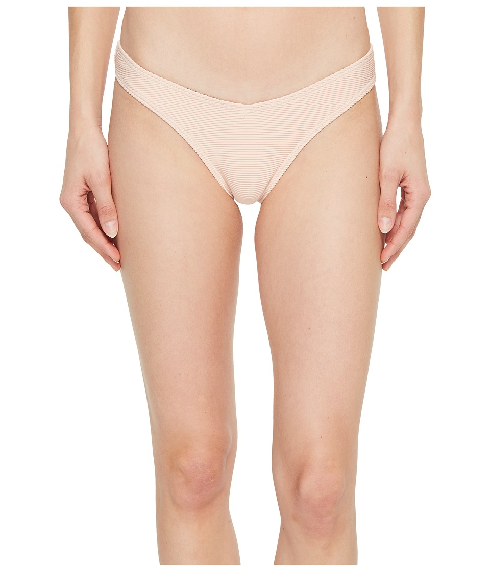 Billabong - Tanlines Hike Bikini Bottom (Barely Blush) Womens Swimwear