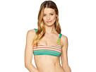 Trina Turk Trina Turk Lurex Stripe Bralette Bikini Top