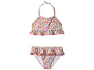 Janie and Jack Ditsy Floral Two-Piece Swim Set (Toddler/Little Kids/Big Kids)