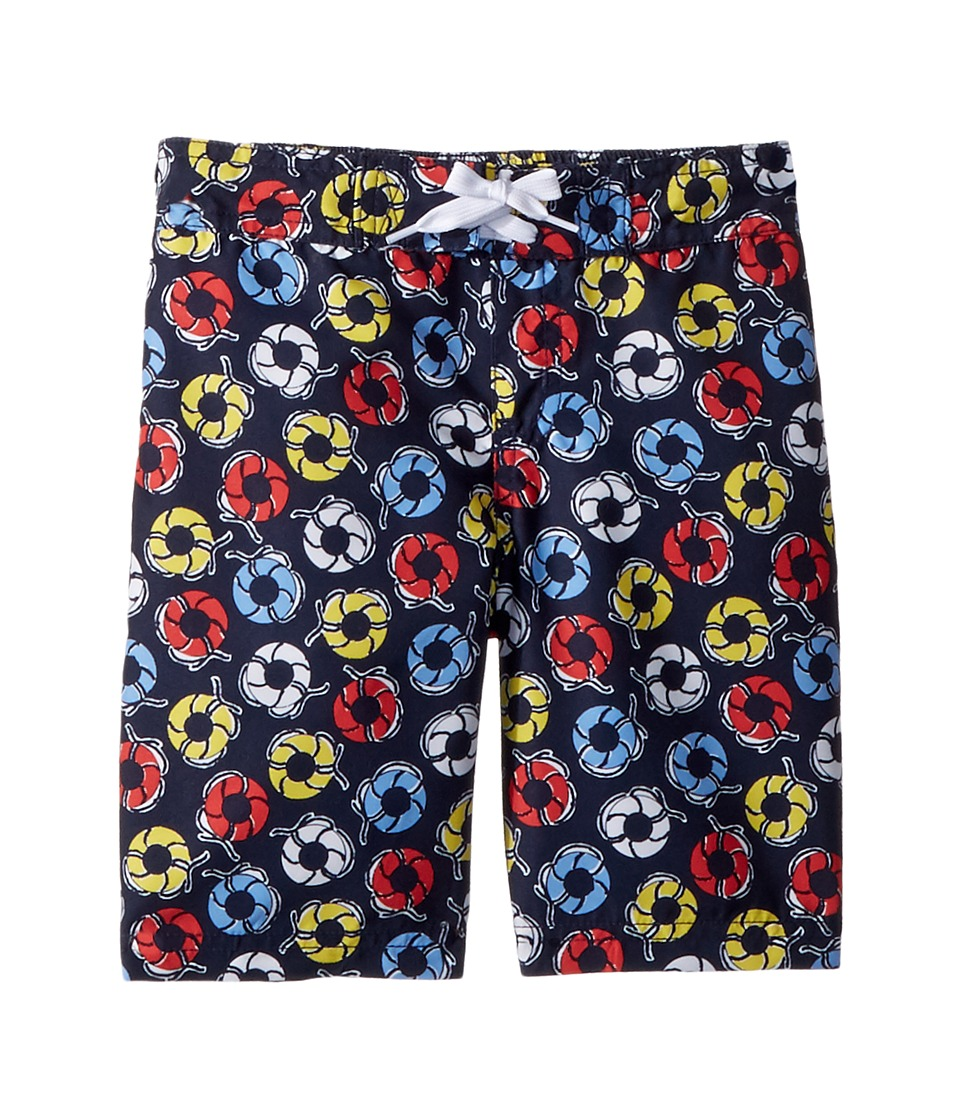 Janie and Jack - Printed Swim Trunks (Toddler/Little Kids/Big Kids) (Multicolor) Boys Swimwear