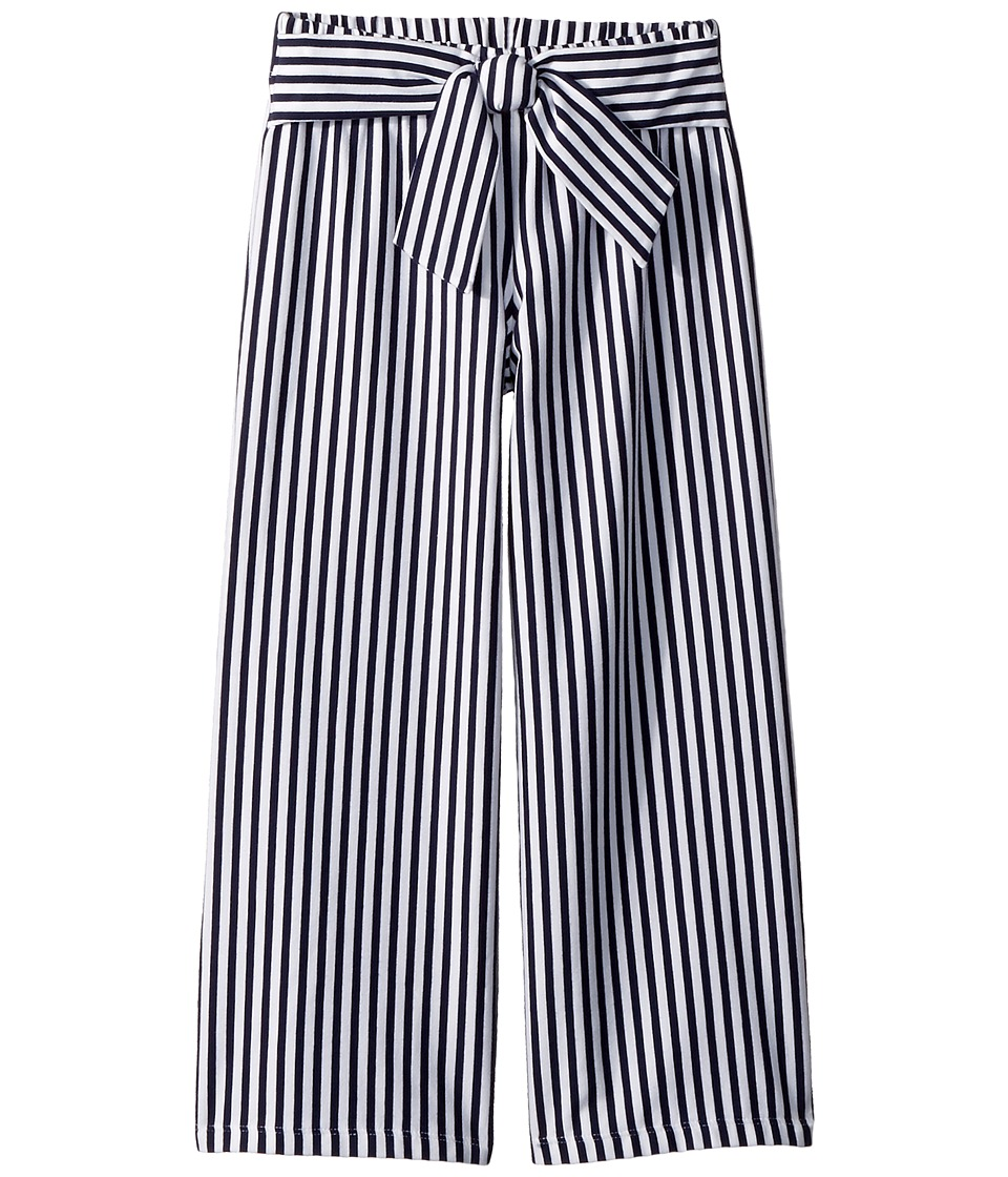 Janie and Jack - Striped Wide Leg Pants (Toddler/Little Kids/Big Kids) (Multicolor) Girls Casual Pants