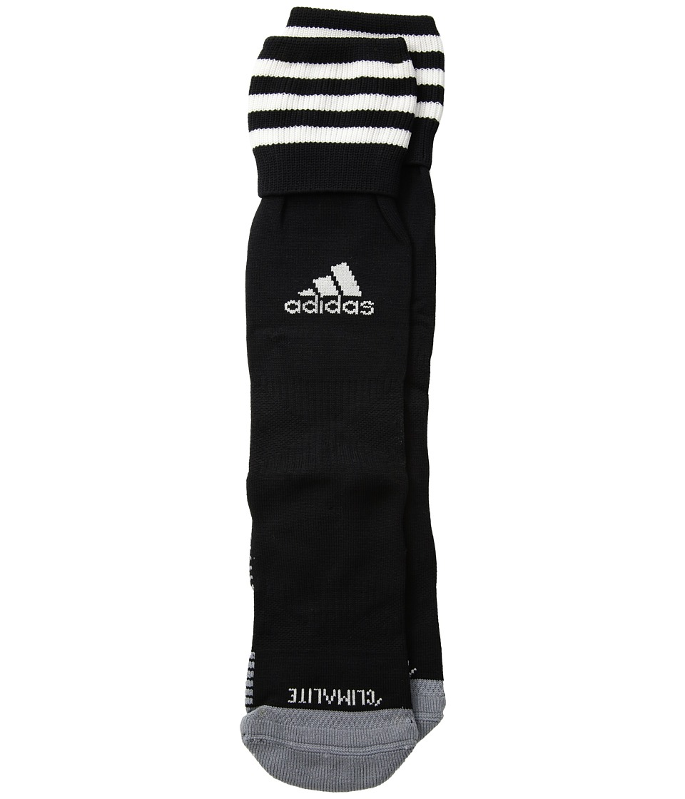 adidas - Copa Zone Cushion III OTC Sock (Black/ White) Crew Cut Socks Shoes