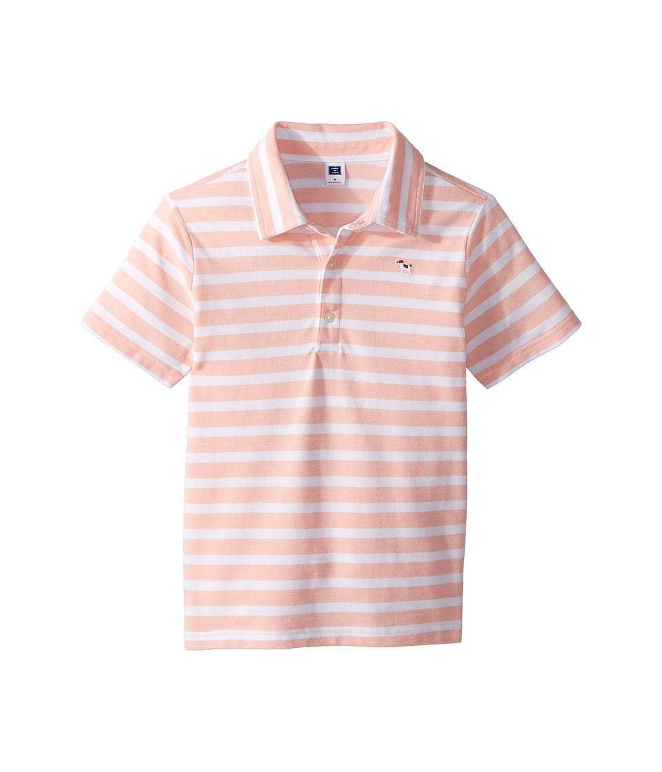 Janie and Jack - Short Sleeve Pique Polo (Toddler/Little Kids/Big Kids) (Multicolor) Boys Clothing