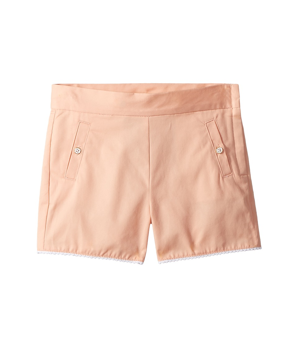 Janie and Jack - Pom Shorts (Toddler/Little Kids/Big Kids) (Peach Perfection) Girls Shorts