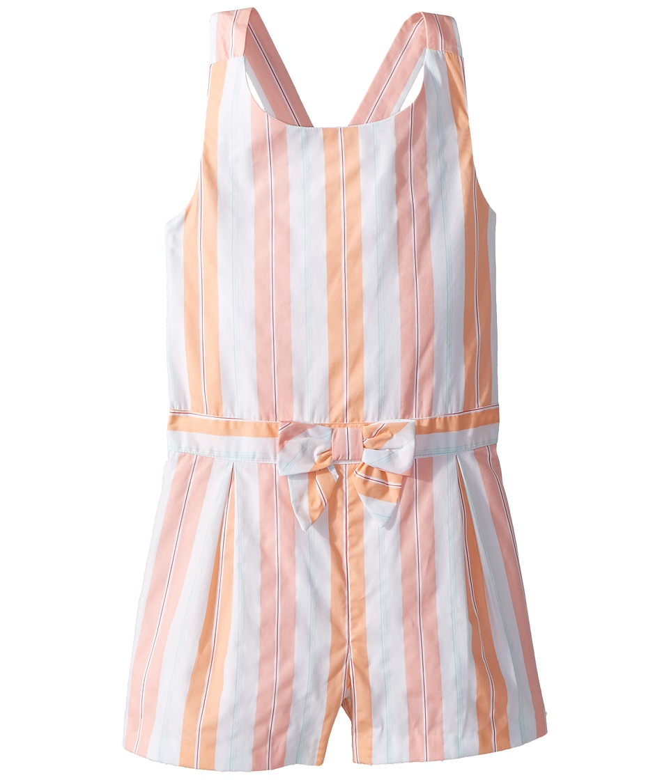 Janie and Jack - Sleeveless Stripe Romper (Toddler/Little Kids/Big Kids) (Multicolor) Girls Jumpsuit & Rompers One Piece