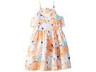 Janie and Jack Sleeveless Watercolor Floral Dress (Toddler/Little Kids/Big Kids)