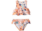 Janie and Jack Watercolor Floral Two-Piece Swim Set (Toddler/Little Kids/Big Kids)