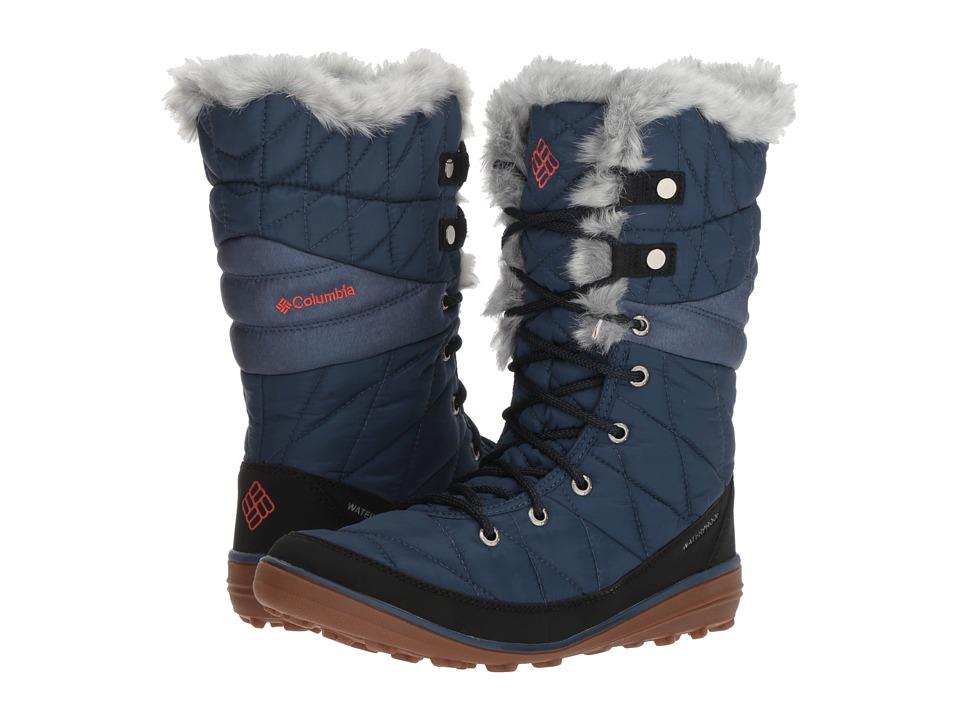 Columbia Heavenly Omni-Heat (Zinc/Red Canyon) Women's Shoes