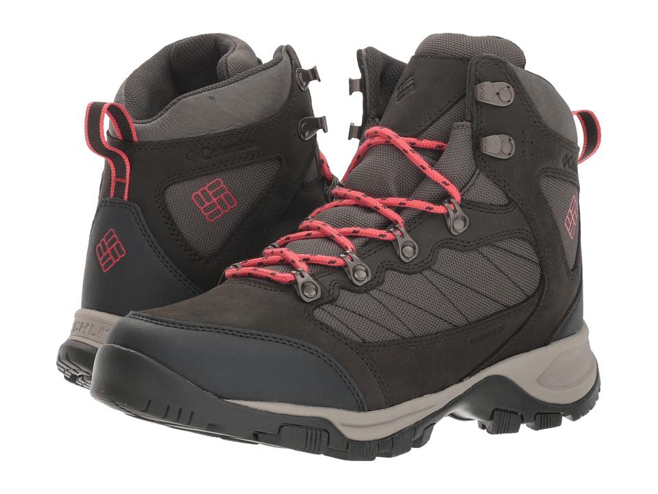 Columbia Cascade Pass Waterproof (Alpine Tundra/Sunset Red) Women's Shoes