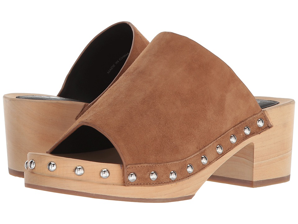 Sol Sana Jackie Clog (Tan Suede/Blonde) Women's Clog/Mule Shoes