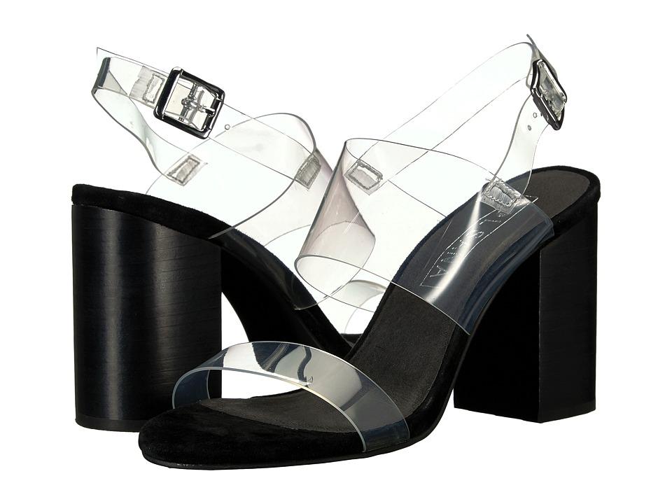 Sol Sana - Mavis Heel (Black Suede) High Heels