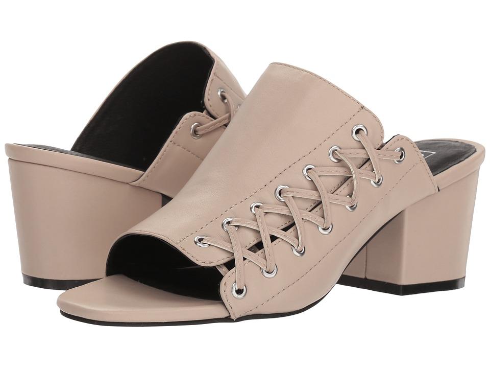 Sol Sana Carla Heel (Ecru) Women's Clog/Mule Shoes