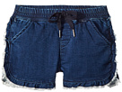 AG Adriano Goldschmied Kids The Lily Ruffle Pull-On Shorts (Big Kids)