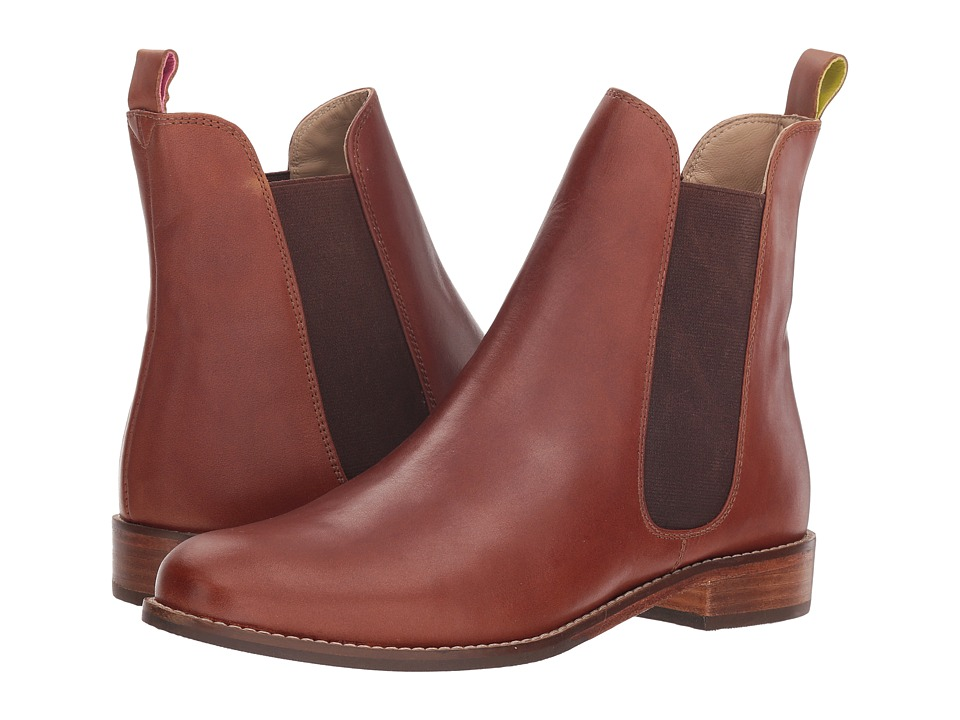 Joules Leather Chelsea Boot (Dark Brown)