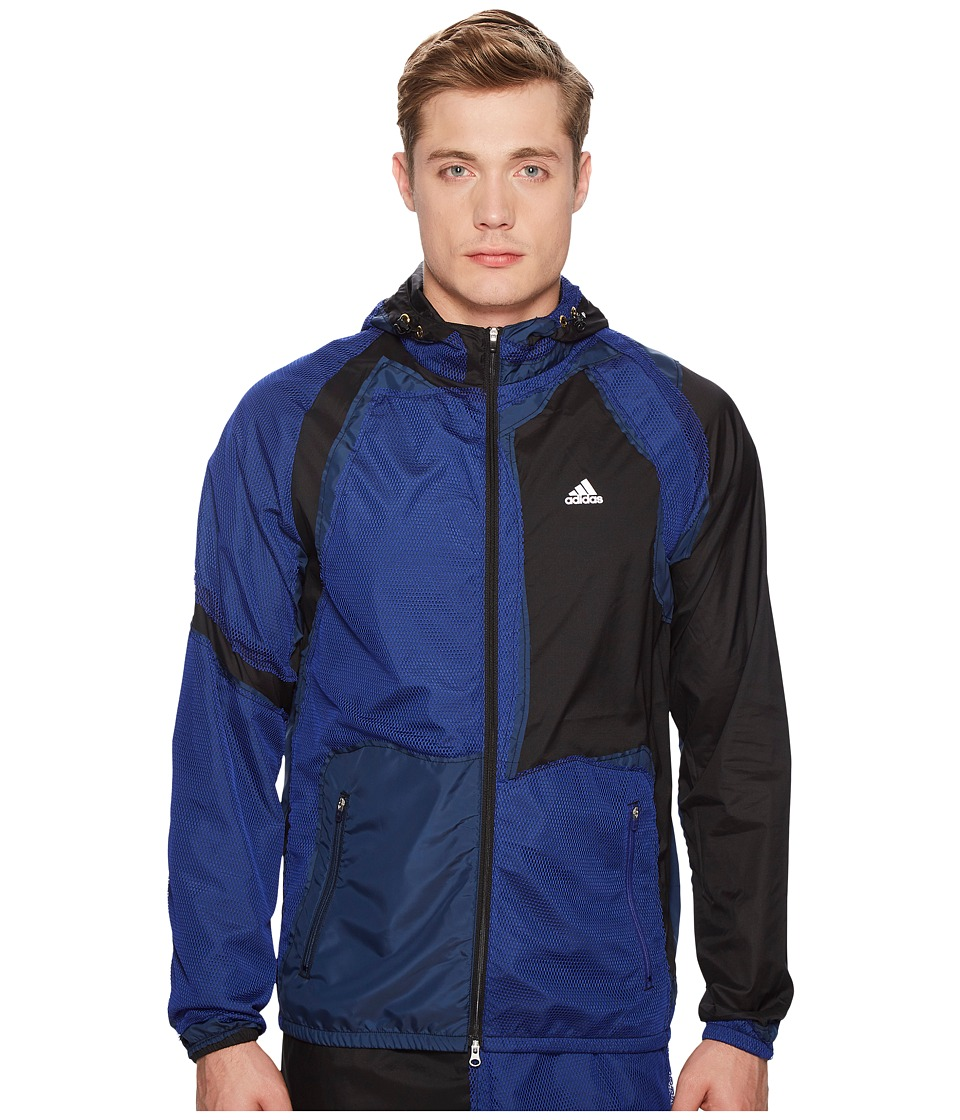 adidas x Kolor - Decon Wind Jacket (Black) Mens Coat