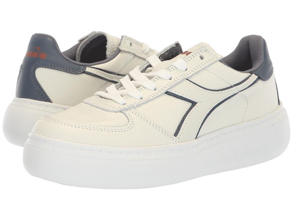 Diadora B.Elite L Platform (White/Grisaille) Women's Shoes