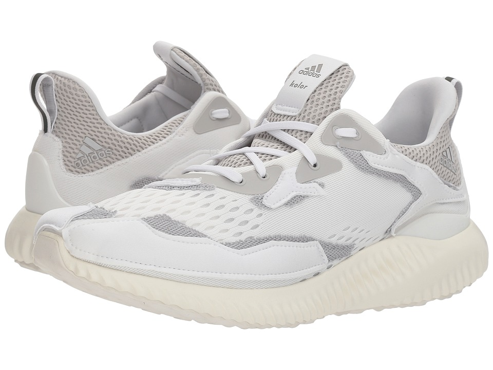 adidas x Kolor - Alphabounce Kolor (Footwear White/Grey Two/Footwear White) Mens Shoes
