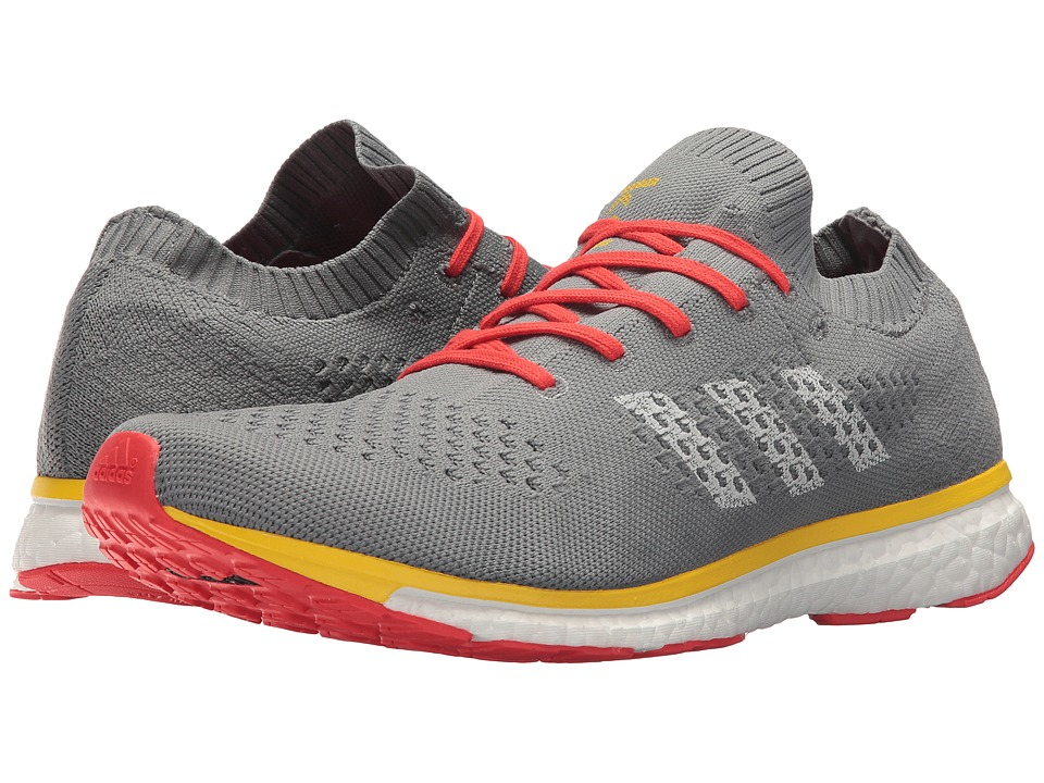 adidas x Kolor - Adizero Prime Kolor (Grey Three/Grey One/Equipment Yellow) Mens Shoes