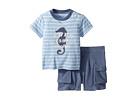 Ralph Lauren Baby Ralph Lauren Baby Cotton T-Shirt Shorts Set (Infant)