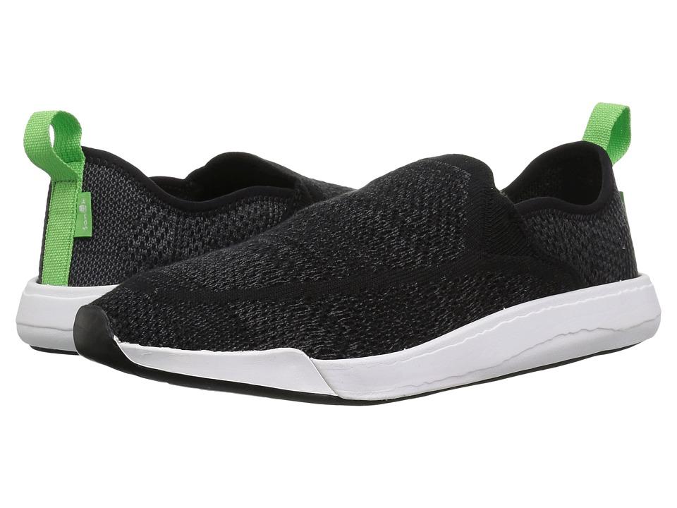 Sanuk Chiba Quest Knit (Black) Women's Shoes