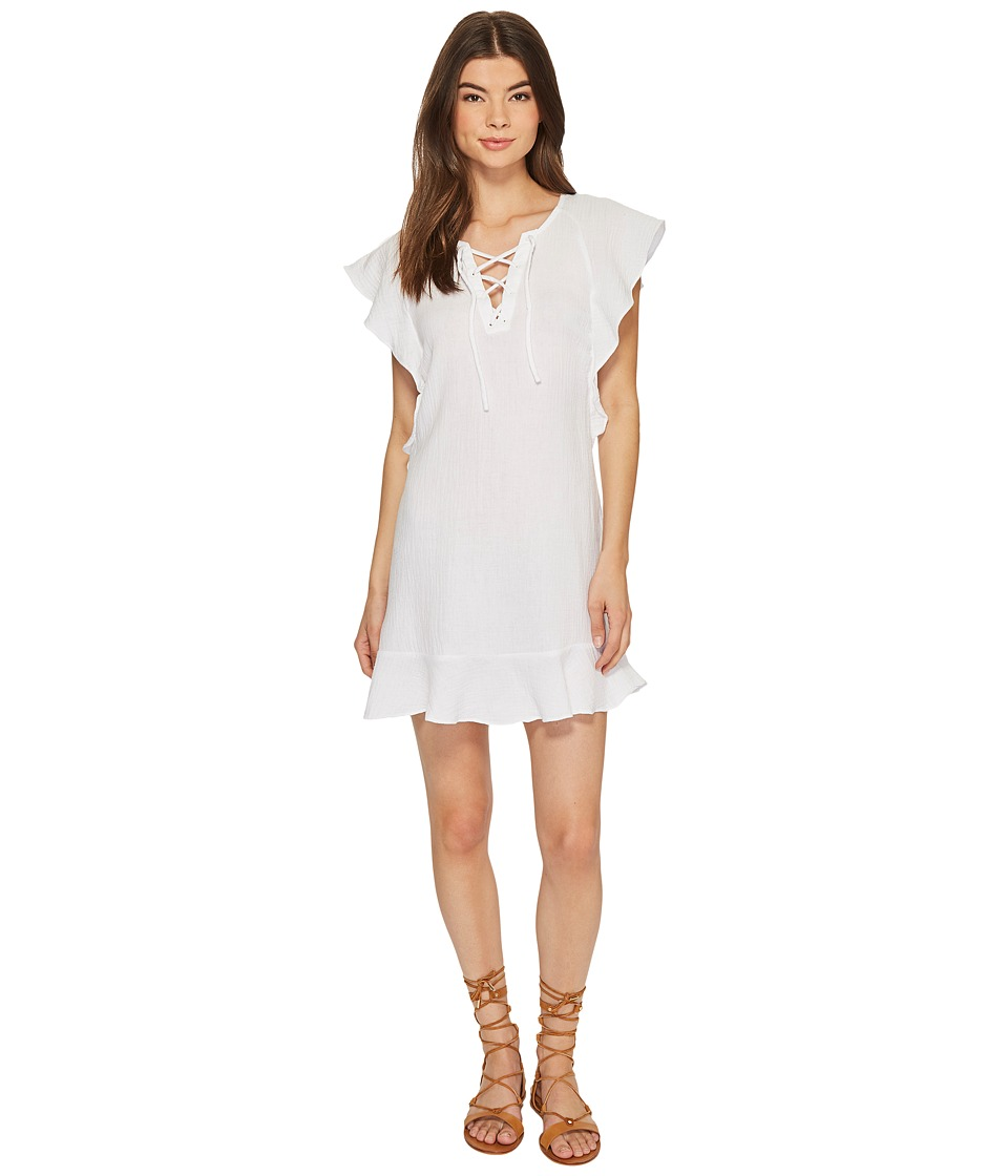 Tavik - Fia Mini Dress (White) Womens Dress