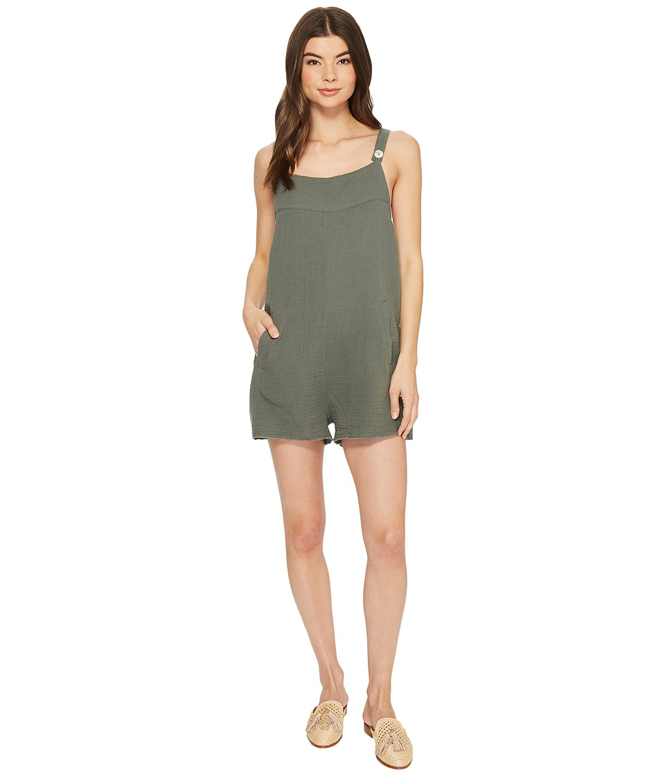 Tavik - Caden Romper (Cove Grey) Womens Jumpsuit & Rompers One Piece