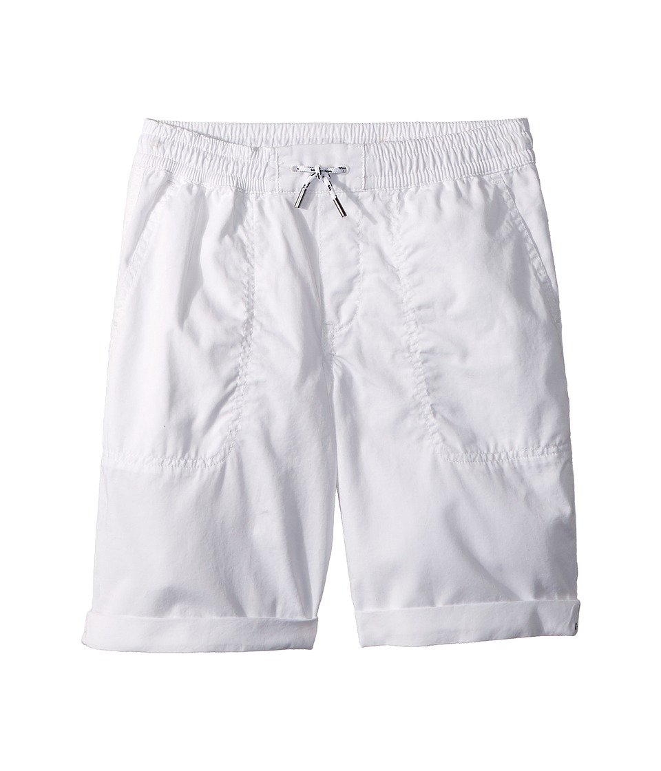 Polo Ralph Lauren Kids - Relaxed Fit Cotton Shorts (Big Kids) (White) Boys Shorts