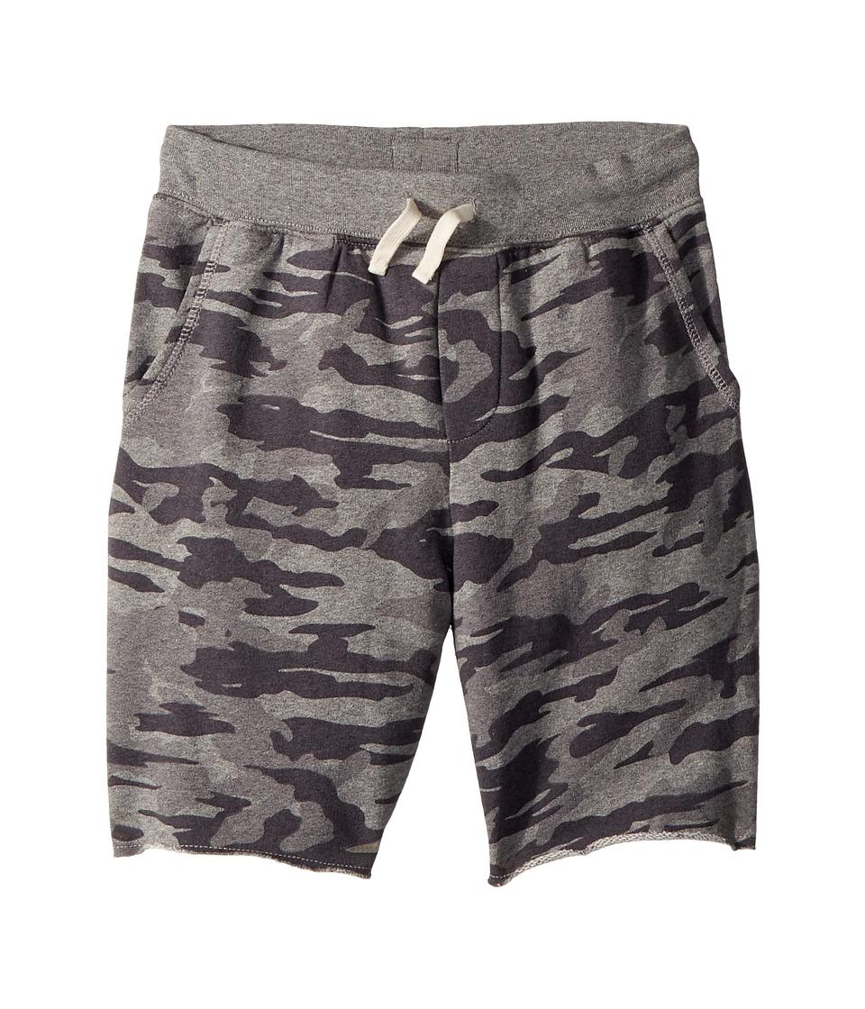 Polo Ralph Lauren Kids - Camo Cotton French Terry Shorts (Big Kids) (Grey Camo) Boys Shorts