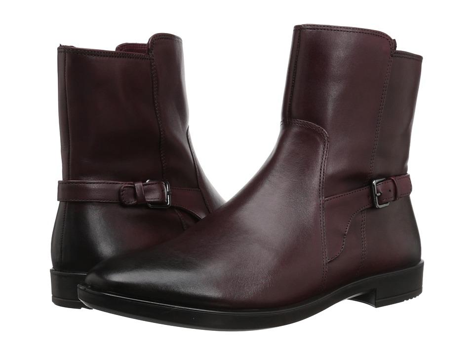 ECCO Shape M 15 Boot (Bordeaux Full Grain Leather)