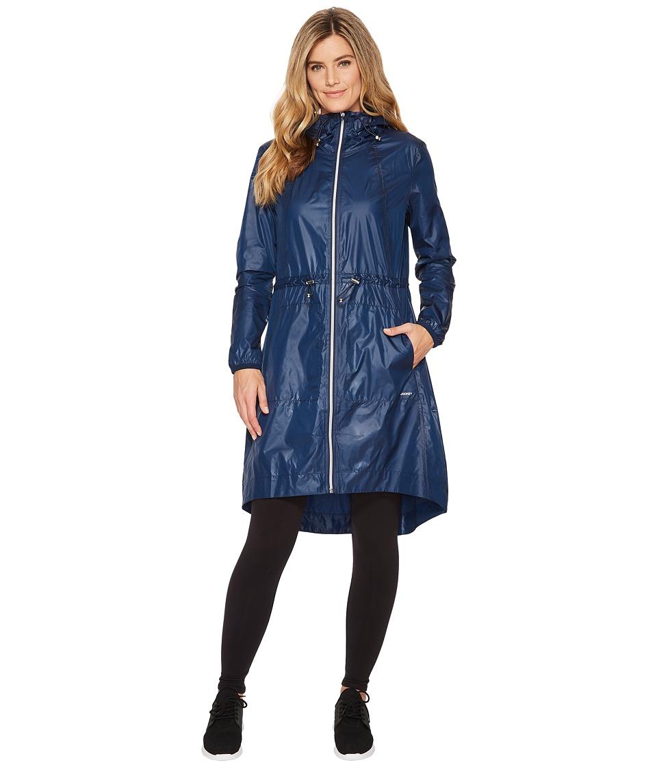 Jockey Active - Elevation Jacket (Thunder Blue) Womens Coat