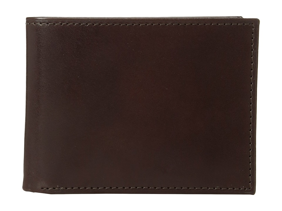 Johnston & Murphy - Slimfold Wallet (Brown Smooth Leather) Wallet