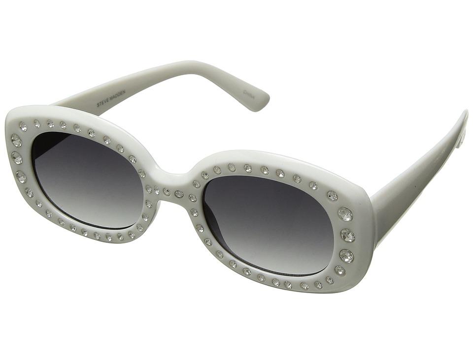 Steve Madden Bling (White) Fashion Sunglasses