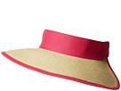 San Diego Hat Company San Diego Hat Company UBV037 Roll Up Visor with Canvas and Terry Cloth Sweatband