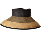 San Diego Hat Company San Diego Hat Company UBV038 Roll Up Visor with Bow Closure