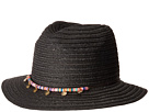 San Diego Hat Company UBF1107 Fedora with Multicolor Trim Gold Coins