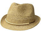 San Diego Hat Company UBF1106 Fedora w/ Metallic Bar Trim