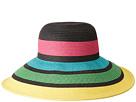 San Diego Hat Company UBL6811 Sun Brim w/ Stripes