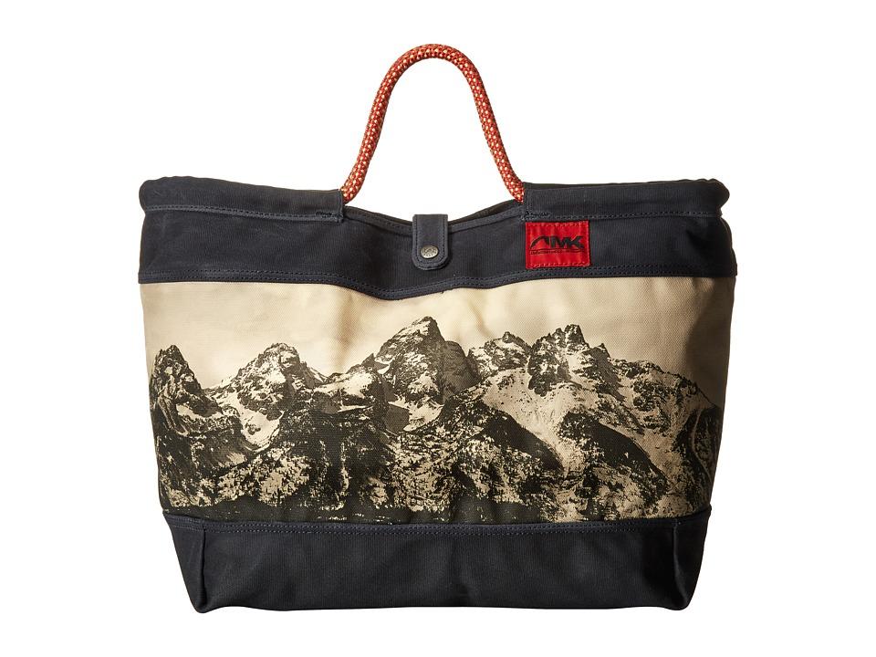 Mountain Khakis - Limited Edition Market Tote (Teton Print) Tote Handbags
