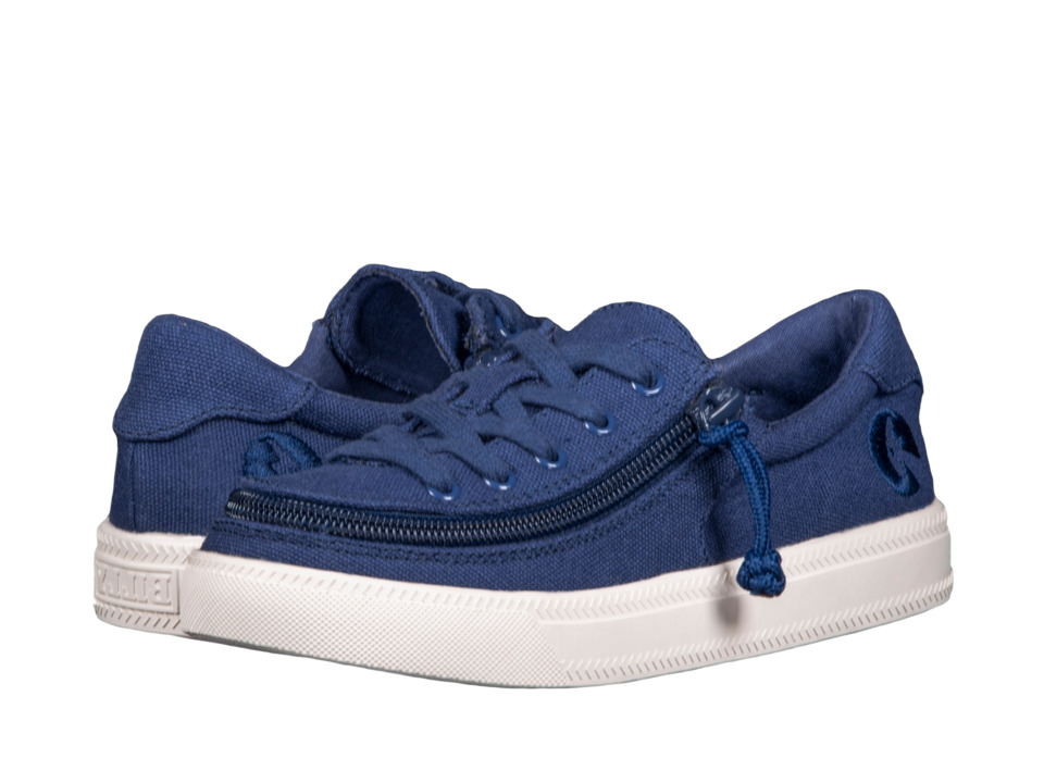 BILLY Footwear Kids - Classic Lace Low (Toddler/Little Kid/Big Kid) (Navy) Kids Shoes