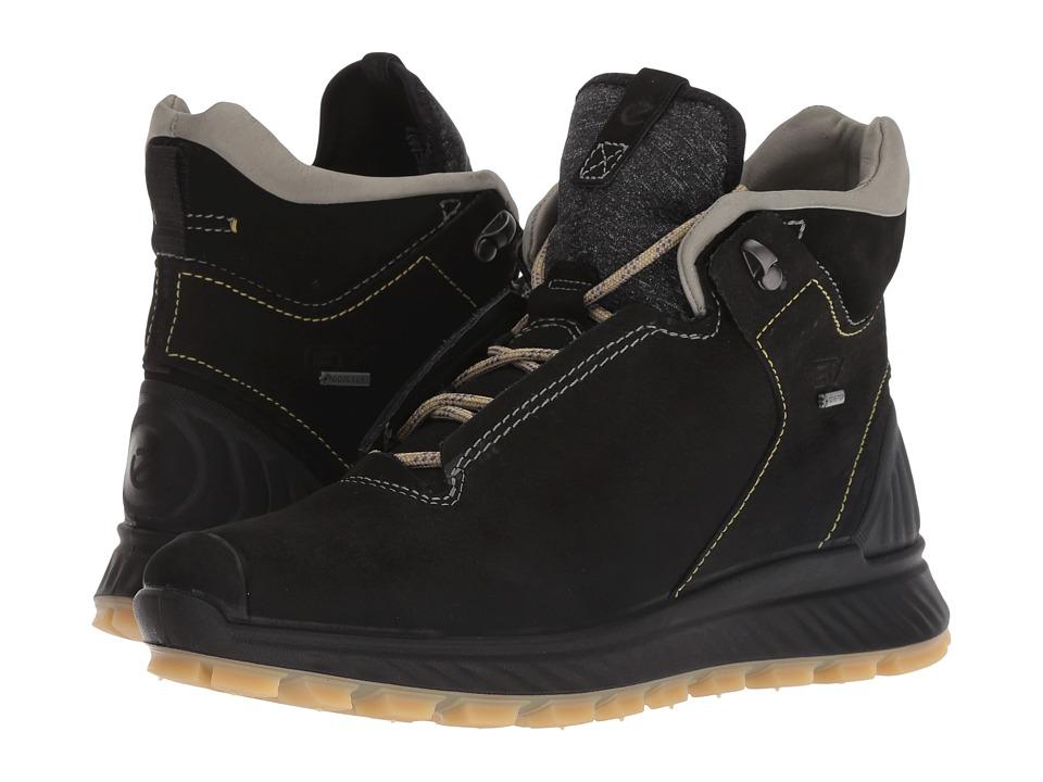 ECCO Sport Exostrike GORE-TEX High (Black/Wild Dove) Women's Shoes