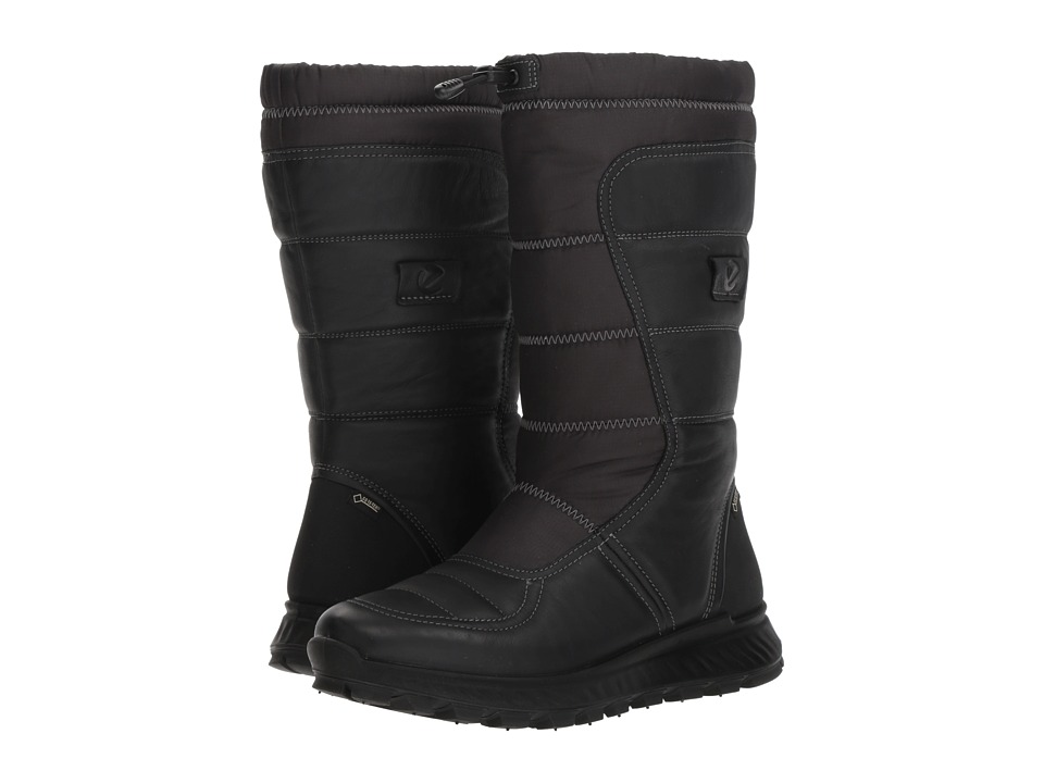 ECCO Sport Exostrike GORE-TEX Tall Boot (Black/Black)