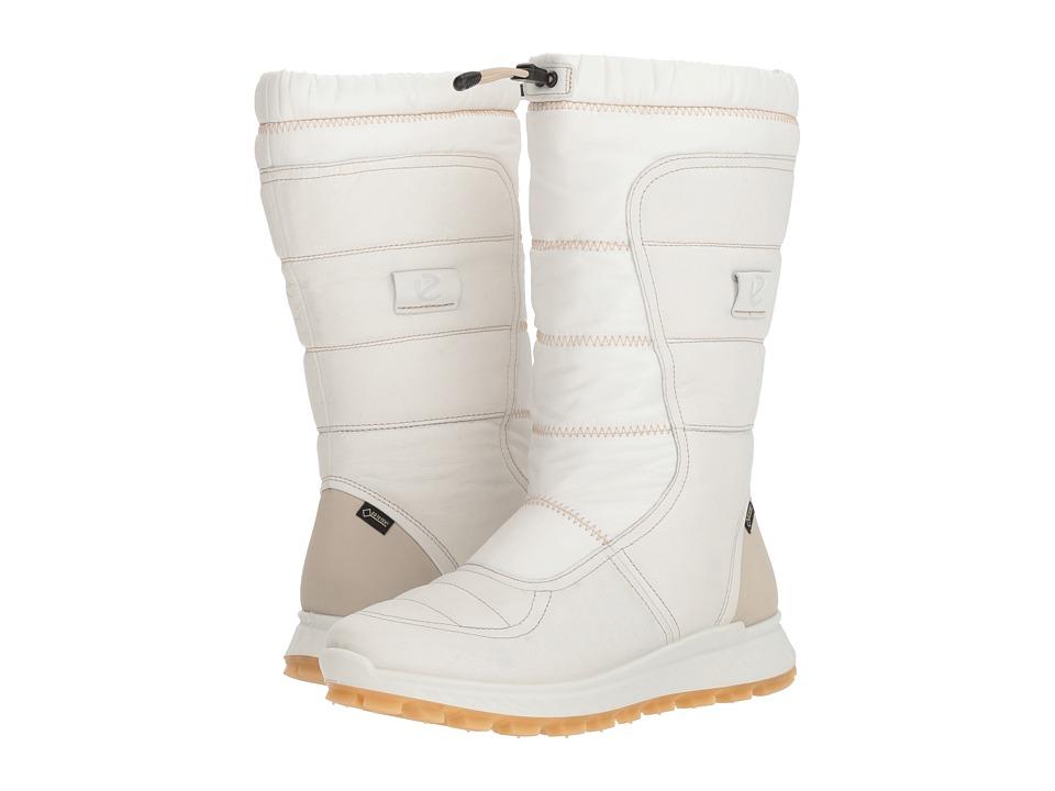 ECCO Sport Exostrike GORE-TEX Tall Boot (White)