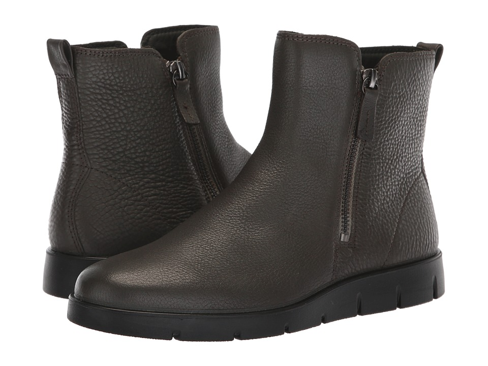 ECCO Bella Zip Boot (Moon Cow Leather)