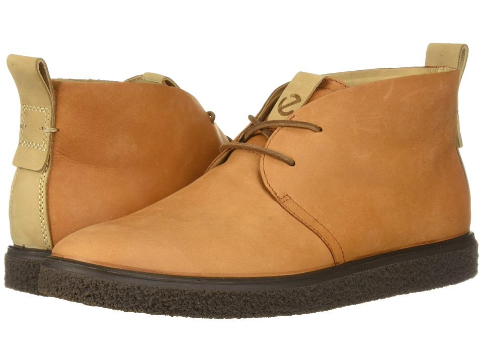 ECCO Crepetray Bootie (Amber Nubuck Leather)