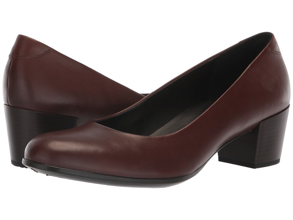 ECCO Shape M 35 Pump (Mink Calf Leather) 1-2 inch heel Shoes