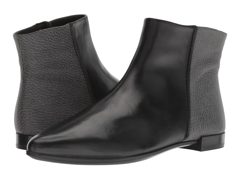 ECCO Shape Pointy Boot (Black/Black) Women's  Boots
