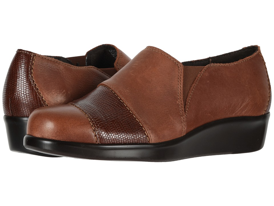 SAS Nora (Auburn/Lizard) Slip-On Shoes