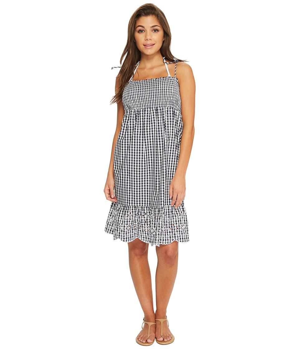 Tory Burch Swimwear Gingham Beach Dress Cover-Up 48862-441