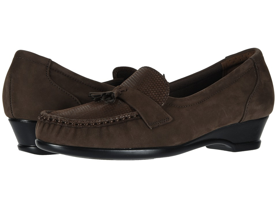SAS Taylor (Brown Turf) Slip-On Shoes